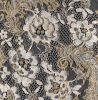 Metallic Yarn Lace Fabric (CY-LW0210)
