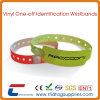 Event Disposable PVC RFID Wristbands 13.56MHz