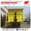Low Price 40cbm Self-Discharging Sand Transport Semi Trailer
