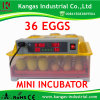 The Best Price Automatic Mini Egg Incubator with CE Approved for Sale (KP-36)