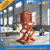 Mobile Scissor Type Hydraulic Lift Table with Ce