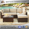 Well Furnir Sectional Rattan Sofa with Cushion WF-17020