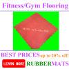 Fitness Interlock Gym Flooring Weight Area Rubber Floor