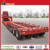5 Line 10 Axles Modular Low Bed Semi Trailer