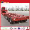 5 Line 10 Axles Modular Low Bed Semi Trailer