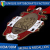 Cheap High Quality Custom Gold Medal with Red Ribbon