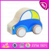 2015 Cartoon Toy Truck Mini Kids Wooden Car, Safety Funny Wooden Mini Car Toy for Children, Cheap Wooden Car Toy for Baby W04A112