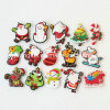 Promotional Christmas Santa Custom PVC Magnet for Fridge