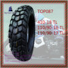 410-18 110/90-16 110/90-17 Good Quality, Tubeless 6pr Nylon Motorcycle Tyre