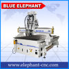 Pneumatic System 3 Heads CNC Router 1325, Furniture Machinery, CNC Machine Making Wooden Door for Wood Engraving