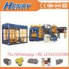 Qt10-15 Automatic Hydraulic Hollow Block Making Machine High Capacity