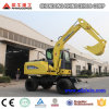 Mini Excavator Ce, 6ton Wheel Excavator for Sale