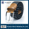 Synthetic Fibroin PU Leather Covered Edge of Head Braided Belt