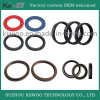 Flat Silicon Rubber O-Ring Filter Screen Rubber Seal