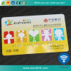 Cr80 Standard PVC 125kHz Em4200 Lf Smart Embossing IC Card