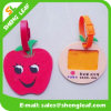 Apple Lovely Soft PVC Rubber Luggage Tag (SLF-LT063)