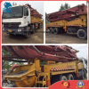 45m/2007 Used 8*4-LHD-Drive Original-Paint Isuzu-Chassis Sany Concrete Pump Truck (30~40TON)
