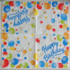 Wholesale Cheap Birthdat Printed Paper Napkin