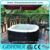 Inflatable Rectangular Hot SPA Tub (pH050013)