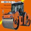 Hydraulic Walk Behind Double Drum Vibratory Road Roller Compactor