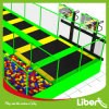 Rectangle Rebounder Trampoline Park equipment with Basketball Hoops