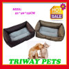 High Quaulity Imitation Leather Pet Bed (WY1610133-1)