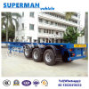 40ft Container Skeleton Frame Cargo Semi-Trailer with Airbag Suspension