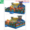 Kids Inflatable Amusement Park Inflatable Fun City Games for Sale