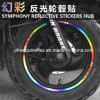 Symphony Reflective Stickers Hub