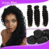 Quercy Hair Stock Brazilian Virign Remy Deep Wave Hair Weft (W-066c)