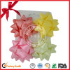 Matte Printed PP Ribbon Bow for Christmas Tree Decoration