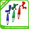 Round Shape Logo Printed on The Lanyard Ball Pen (SLF-LP003)
