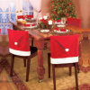 "4PCS a Set Christmas House 20"" Santa Hat Chair Covers (C-3)"