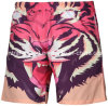 Oeko-Tex 3D Print Full Waist Polyester Men Board Short Swimwear
