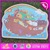 2015 Preschool Wood Jigsaw Puzzle Game Toy, Hot Sale Wood Jigsaw Puzzle Game, Brand New Wooden Jigsaw Puzzle Toy W14c243