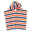 Competitive Stripe Design Printing Kids′bath Poncho Beach Poncho