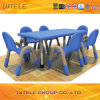School Children Plastic Table with Stainless Steel Table Leg (IFP-034)