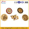 Zinc Alloy Metal Button Badges with Custom Logo