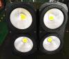 COB 4pcsx100W Warm White Light Stage Lighting Lamp
