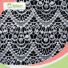 China Factory Wholesale Embroidery Guipure Chemical Lace Fabric with Stones