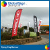 Dye Sublimation Printed Feather Flags with Spike Base