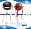 Yaye Dark Blue 330mm Gemstone Globe with Floor Type / CE & RoHS
