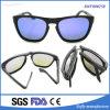 Top Quality Portable Foldaway Eyewear Fashion Designer Coating Sunglasses