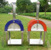 304 Stainless Steel Outdoor Wood Fired Portable Pizza Oven