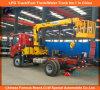 Sinotruck Knuckle Telescopic Boom 5ton Loader Crane Truck