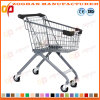 Wire Metal Kids Children′s Wheeled Supermarket Shopping Trolley Cart (Zht175)