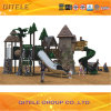 Children Outdoor Playground Equipment with Stainless Slide