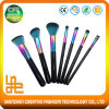 Hot Sale 7PCS Synthetic Hair Rainbow Makeup Brushes
