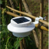 Outdoor Garden Sink Gutter Light Waterproof Wall Mounted LED Solar Fence Light