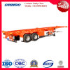 China 2015 New Model Tandem Axle 40feet Skeleton Container Trailer